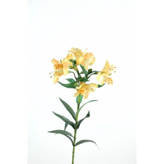Alstroméria fleurs artificielles - Par 12 - Fleurs Artificielles