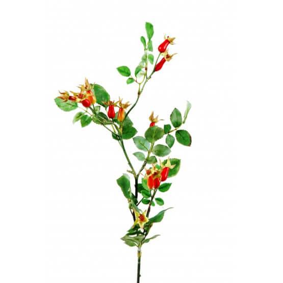 Branches Eglantiers Artificiell - Par 12 - Fleurs Artificielles