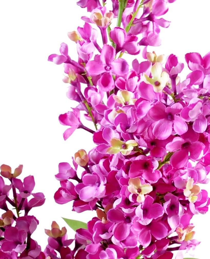Fleurs artificielles lilas artificiel par 3 53 08 for Fleures artificielles