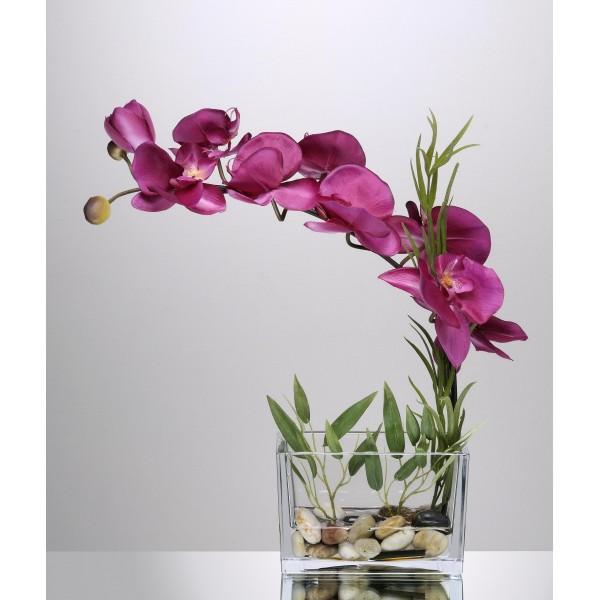 jardini re d 39 orchid e pourpre 64 21. Black Bedroom Furniture Sets. Home Design Ideas