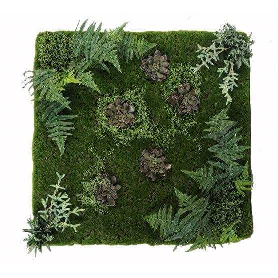 Mur végétal ARTIFICIEL 100 x 100 cm