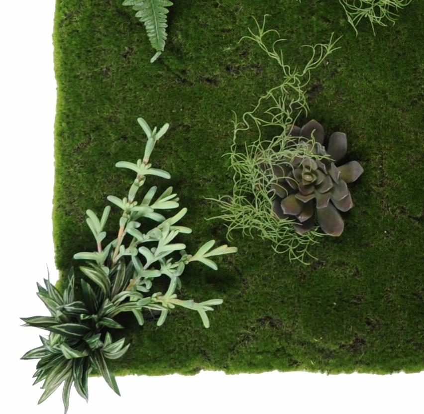 mur v g tal artificiel 100 x 100 cm 163 00. Black Bedroom Furniture Sets. Home Design Ideas
