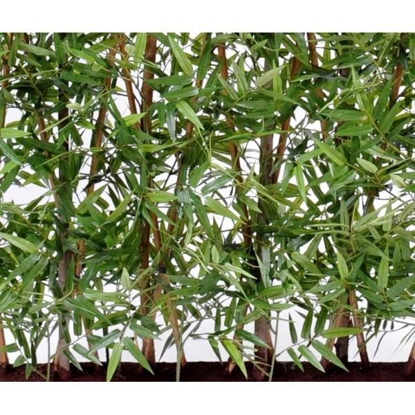 Haie En Bois De Bambou : Bambou oriental haie dense artificiel – 322,00 ?