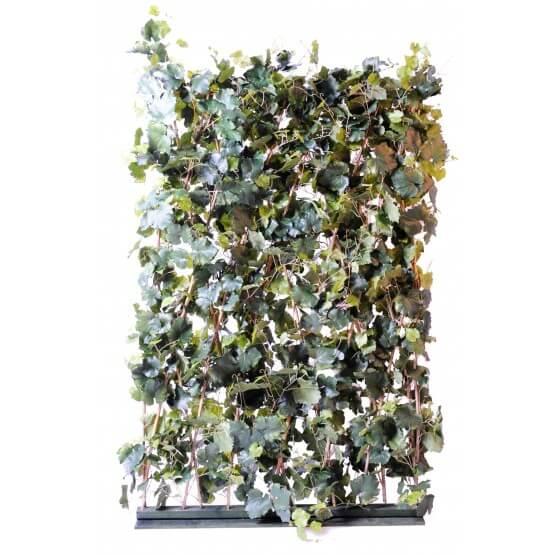 Haie de vigne artificielle - 180 x 120 x 20 cm