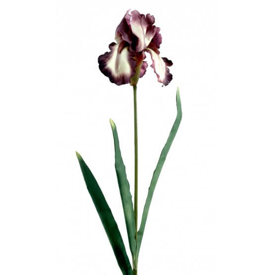 Iris sauvage artificiel vendu par 6 tiges