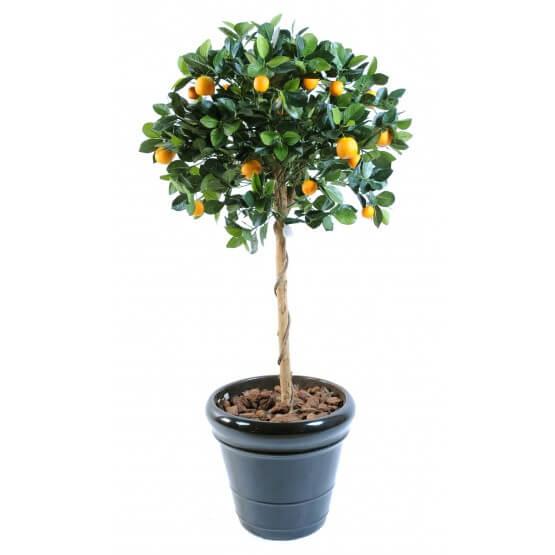 Oranger artificiel - Hauteur 125 cm