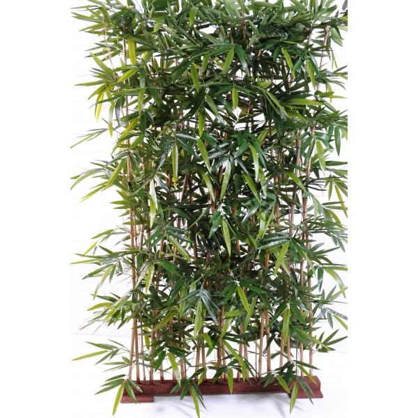 Haie En Bois De Bambou : Haie de bambou new artificielle 150 cm – 288,00 ?