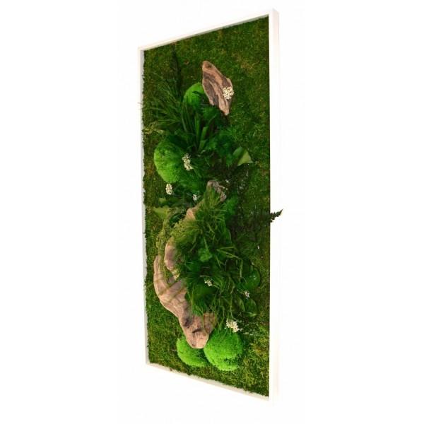 tableau v g tal stabilis sans entretien cadre plantes naturalis es 2. Black Bedroom Furniture Sets. Home Design Ideas