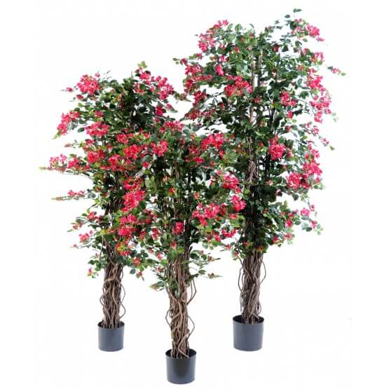 Bougainvillée artificiel Liane bois naturel