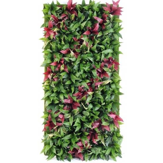 Mur végétal artificiel - Hauteur 230 cm - Largueur 130 cm