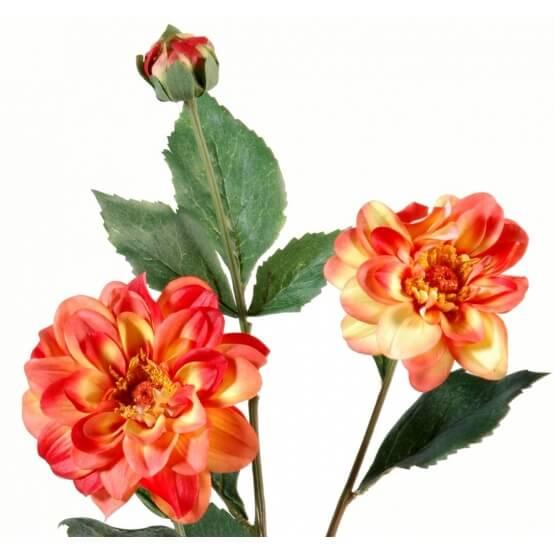Dahlia fleur artificiel - 80 cm