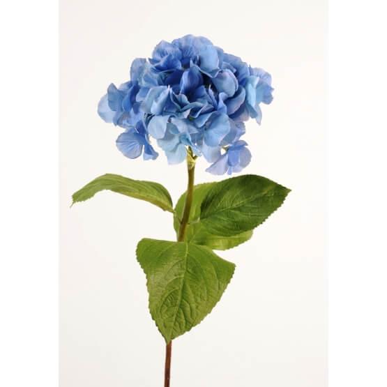 Tiges fleurs artificielles Hortensias - Vendus par 3