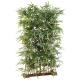 Haie de Bambous artificiels socle 95 cm 185 CM