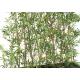 Haie de Bambous artificiels avec sa Jardinière