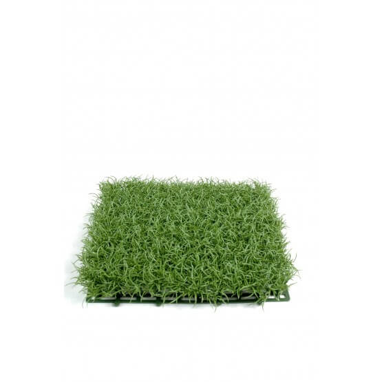 Gazon artificiel - Par 6 - herbe fine en plaque 27 par 27 cm