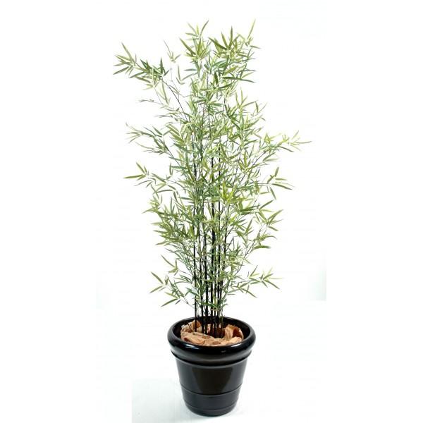 bambou artificiel 55 bambous au tronc bois naturel ou plastique 2. Black Bedroom Furniture Sets. Home Design Ideas