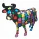 Vache en résine grandeur nature Smarties