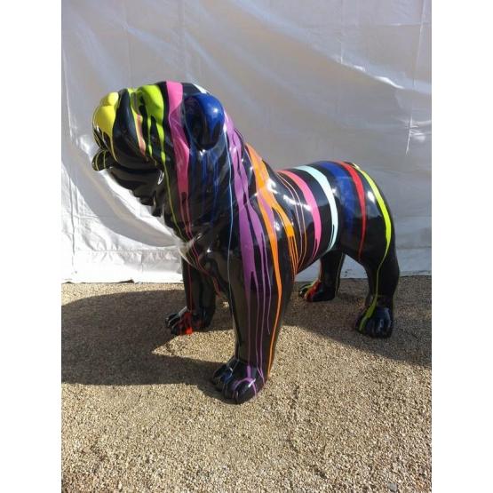 Bulldog Anglais XL en résine