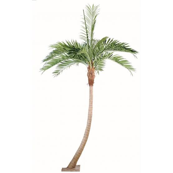 Palmier Coconut courbé artificiel