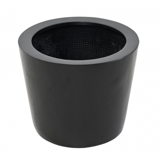 Pot rond conique Fiber