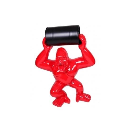 Statue Sculpture Design en Résine dun Gorille , Singe , ULTRA BRILLANT
