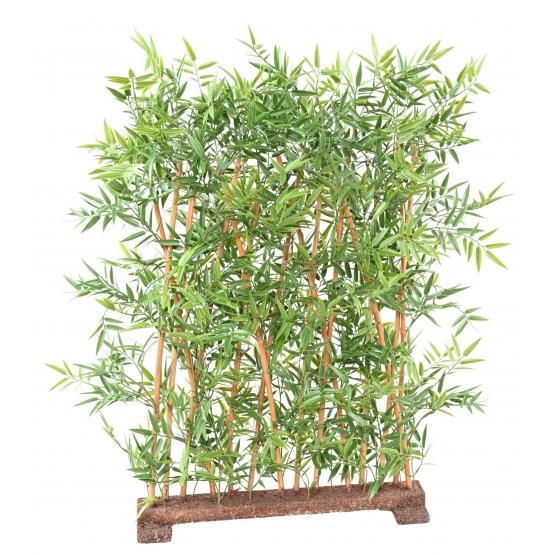 Haie de Bambou artificiel Japanese UV socle 70 cm