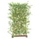Haie de Bambou artificiel Japanese UV socle 70 cm 150 CM
