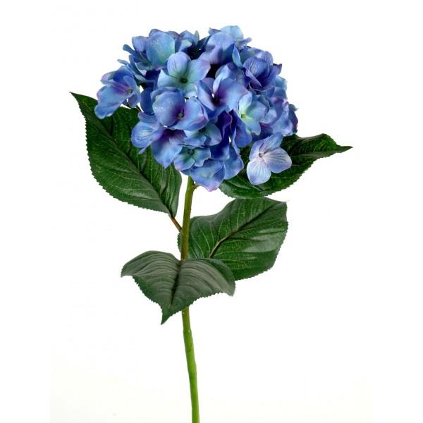 Hortensia par 3 fleurs artificielles 19 90 - Terre pour hortensia bleu ...