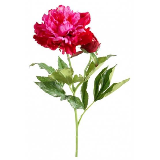 Pivoines artificielles beauty - par 12 - Fleurs Artificielles