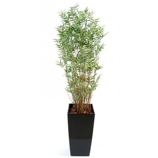 COMPO A VIVRE Bambou artificiel  avec Bac fibre de verre 170 cm