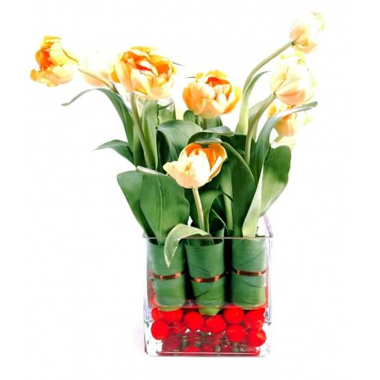 Verrerie Tulipe Ø35-ht40