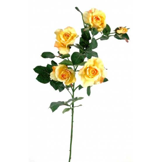 Roses artificielles - Par 3 - Fleurs Artificielles