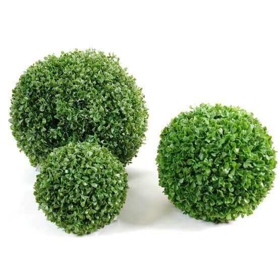Boule de buis - plante artificielle