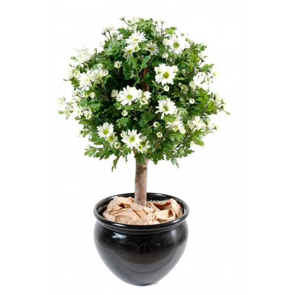 Anth mis arbuste artificiel boule 90 cm 149 00 for Plante 90 cm