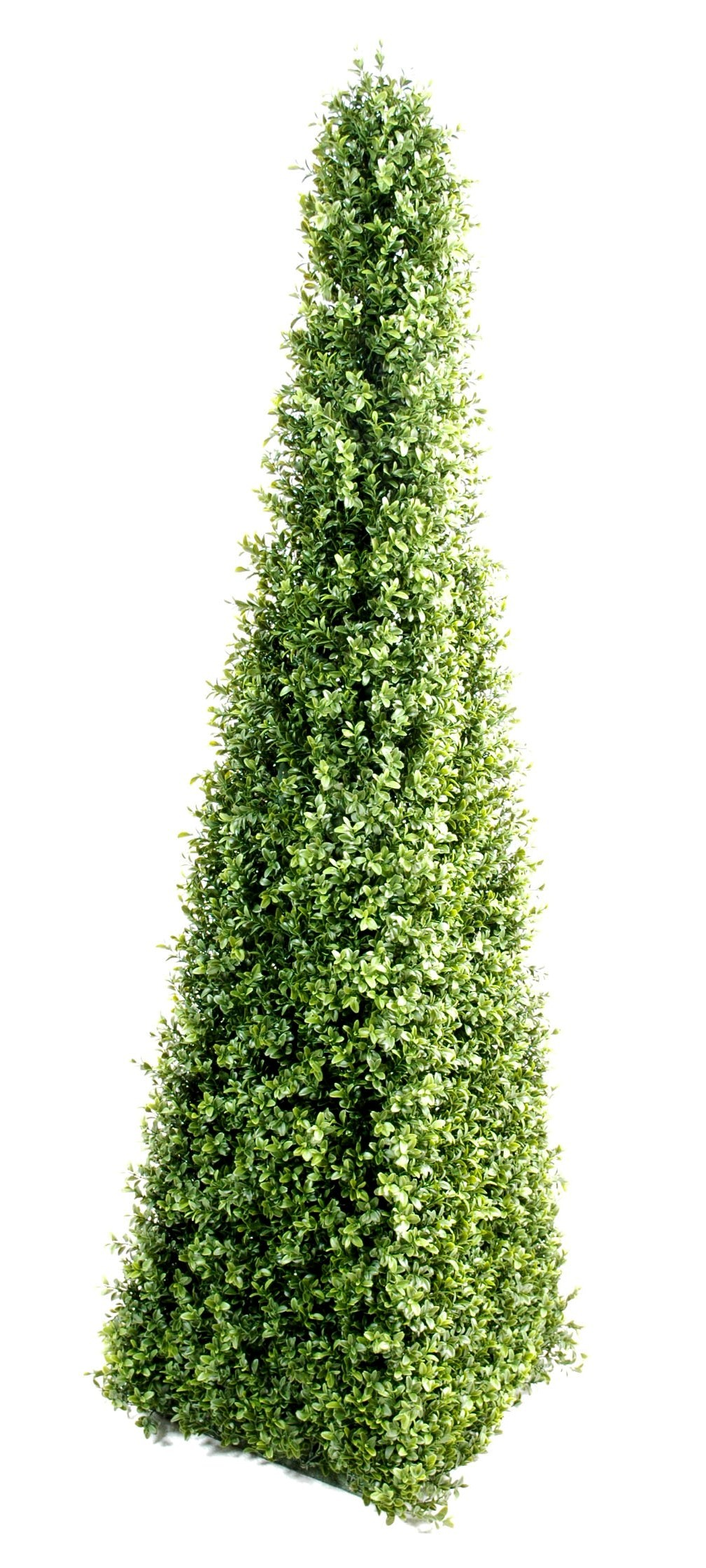 Buis artificiel pyramide 4 hauteur 160 cm 255 00 for Plante artificielle exterieure