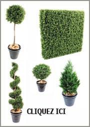 Plante artificielle ext rieur int rieur et fleurs artificielles for Plante arbuste exterieur