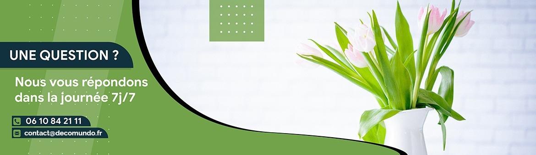 Contact Fleurs plantes artificielles France